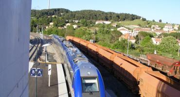 La ligne Marseille Aix En Provence pendant les travaux d'été 2021